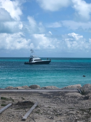Sailboat on Bimini Waters