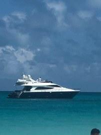 Boat on Bimini Beach